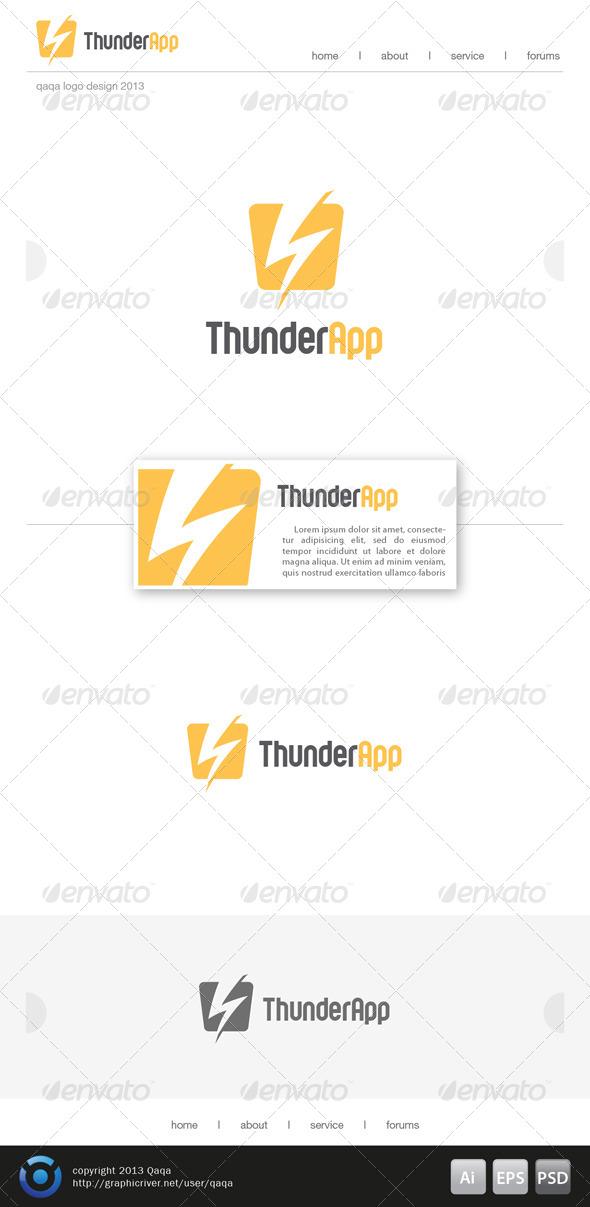 Thunder App Logo