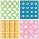 Patterns with Flowers - GraphicRiver Item for Sale