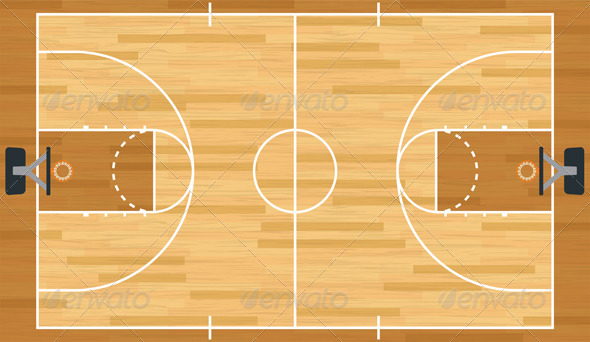 basketball court psd basketball court graphics, designs & templates from graphicriver