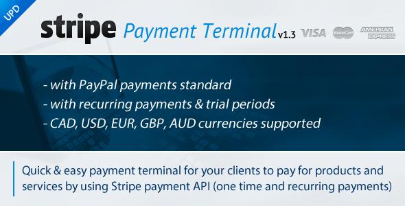 Stripe Payment Terminal