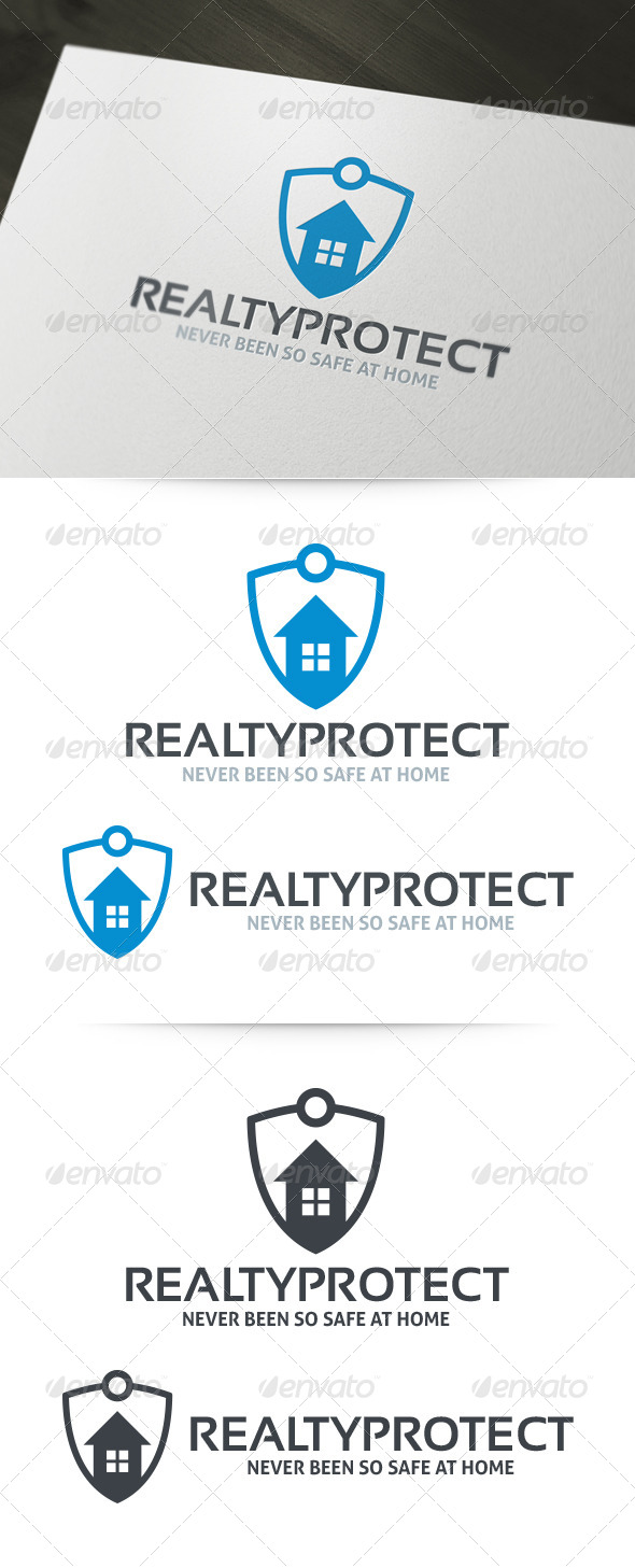 Realty Protect Logo Template
