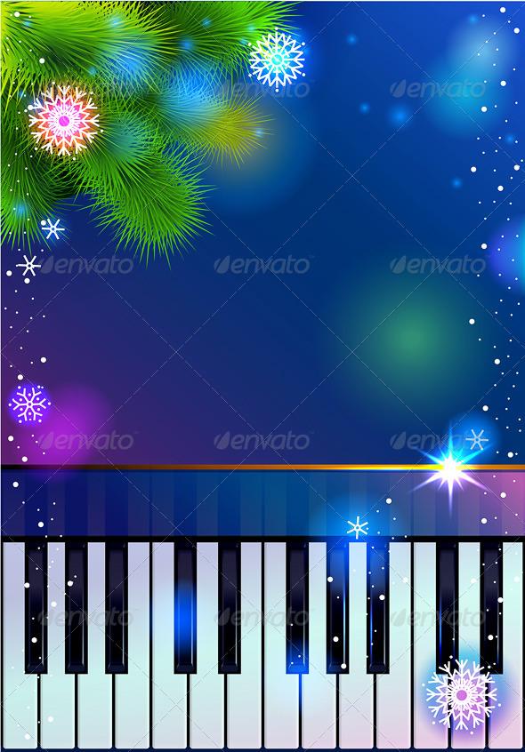New Year Piano