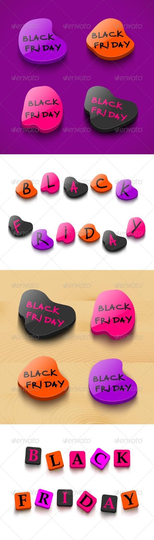 Black Friday Sale Badges