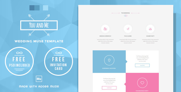 You and Me - Wedding Muse Template