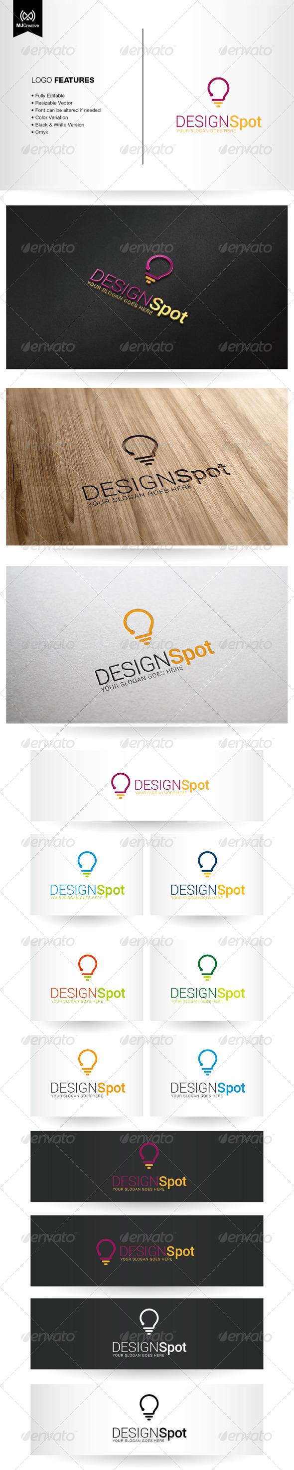 Question and Idea Logo