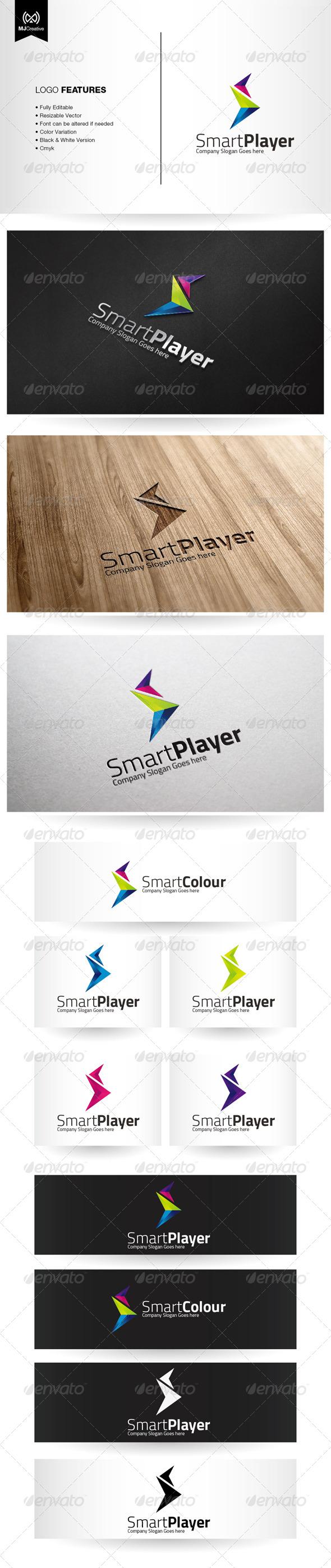 Abstract S and Play Forward Logo