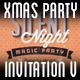 xMas Party Invitation V - GraphicRiver Item for Sale