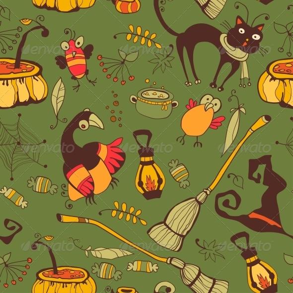 Halloween Day Thanksgiving Harvest