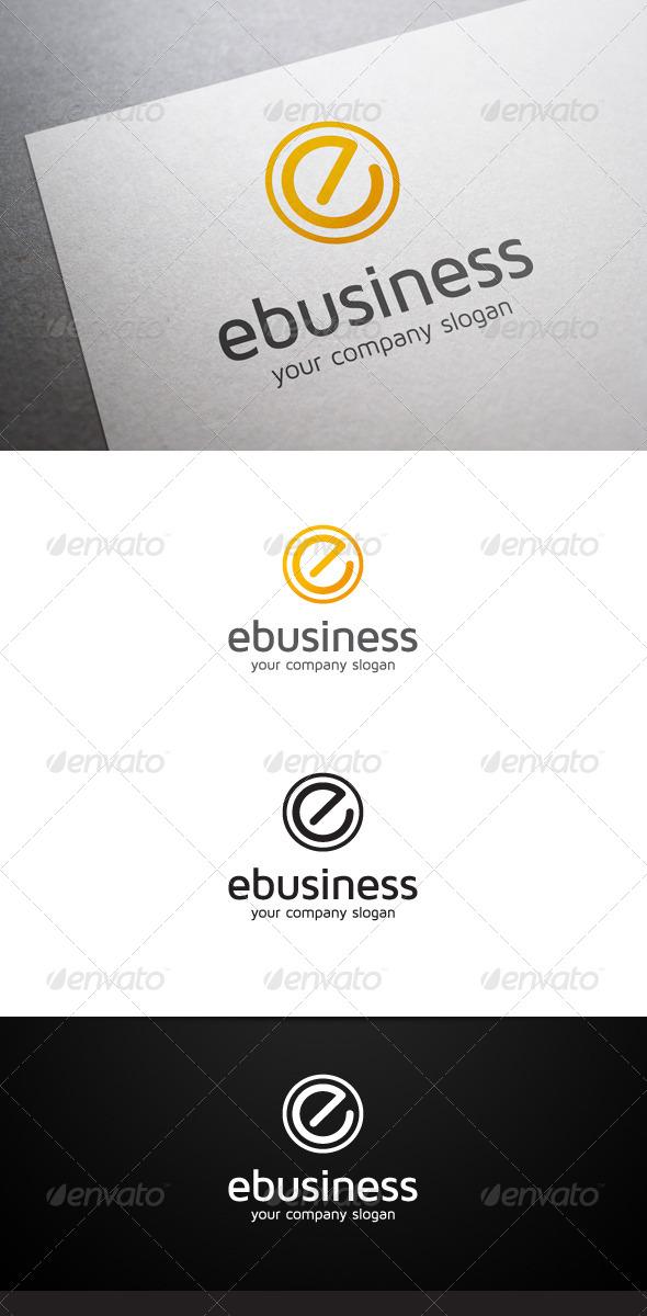 E Business Logo