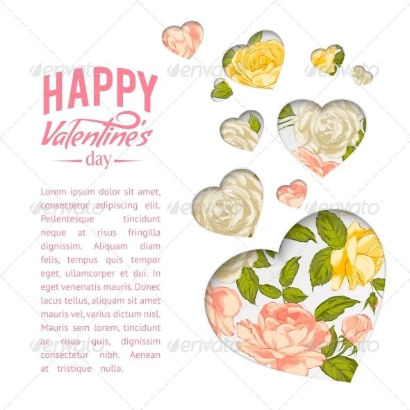 Valentine Heart Symbol.
