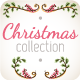 Holly Christmas Branches Elements - GraphicRiver Item for Sale