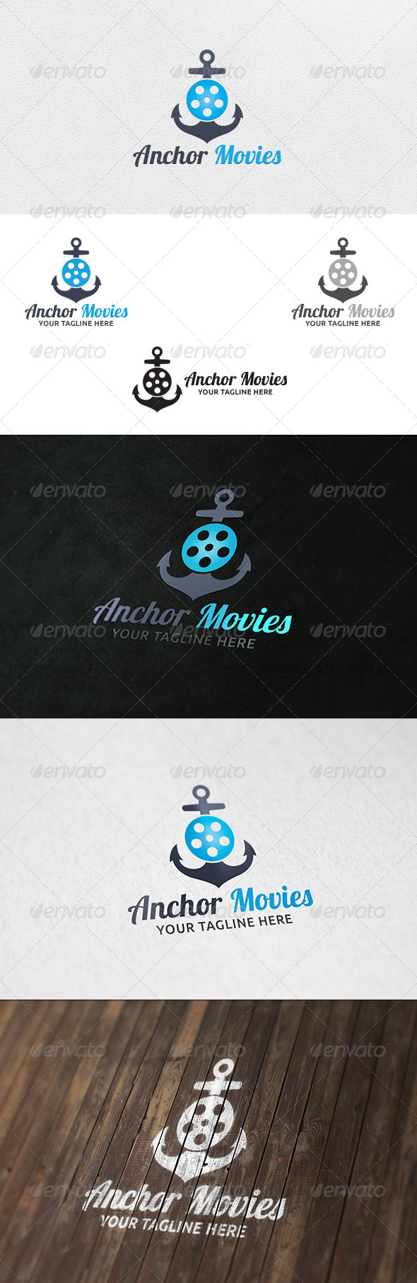 Anchor Movies - Logo Template