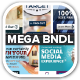 10 Set Mega Bundle Mix Web Banners Vol 2 - GraphicRiver Item for Sale