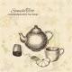 Artistic Hand Drawn Tea Set  - GraphicRiver Item for Sale