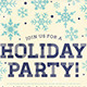 Holiday Party Flyer - GraphicRiver Item for Sale