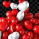 Heart Red and White Transition - VideoHive Item for Sale