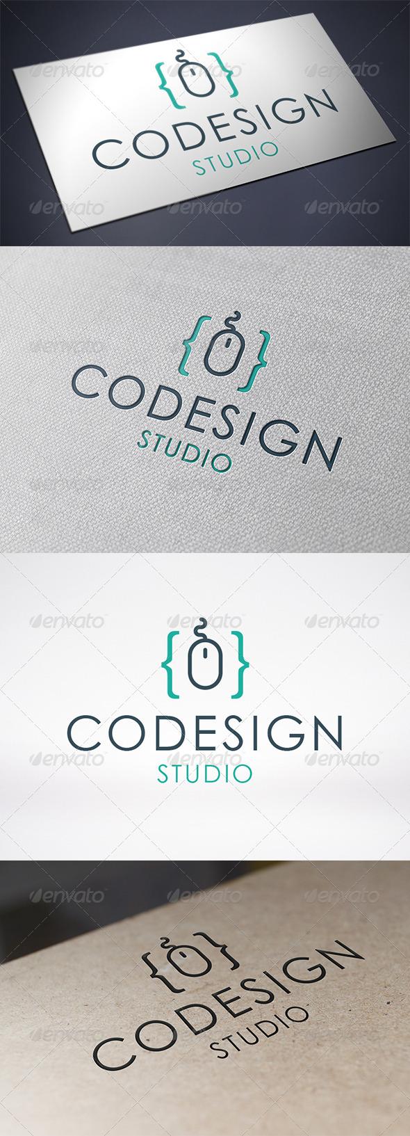 Code Design Logo Template