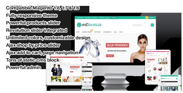 Areca - Multi-Purpose Responsive Magento Theme