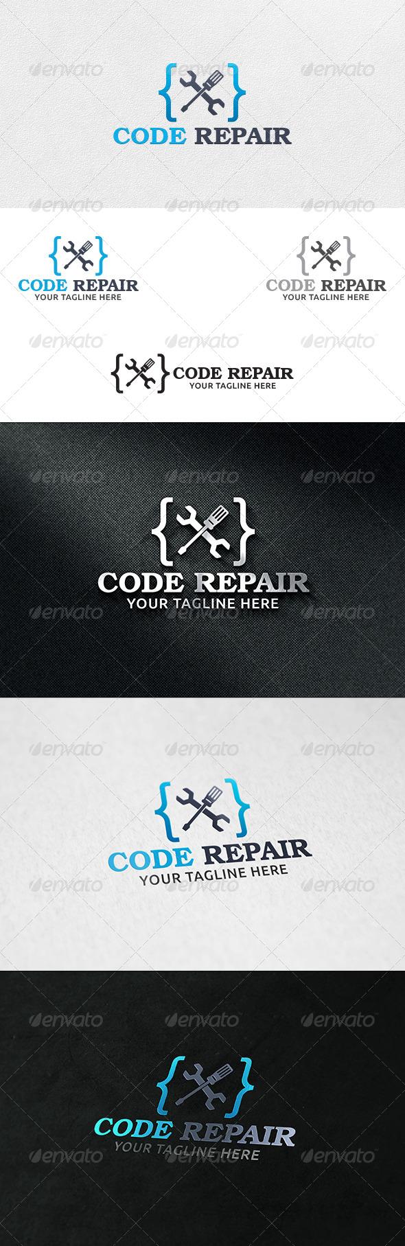 Code Repair - Logo Template