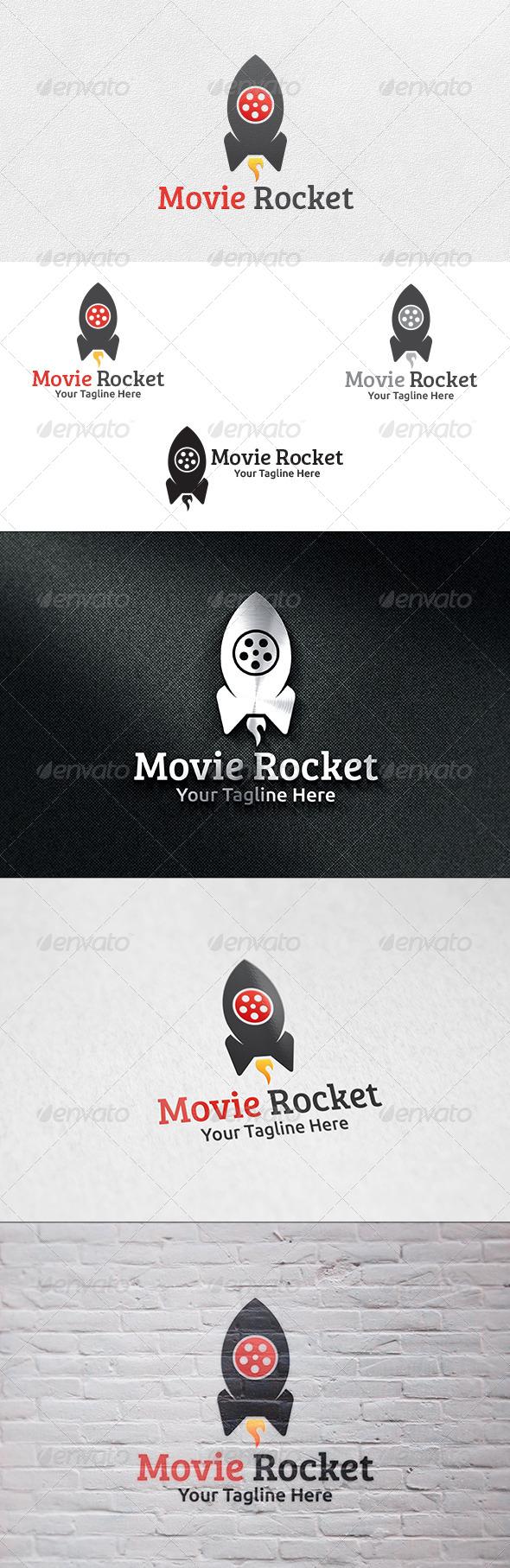 Movie Rocket - Logo Template