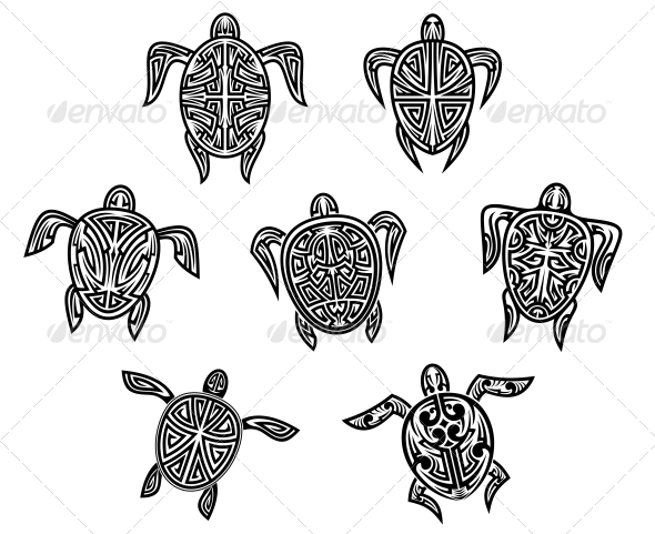 Background Cartoon Tattoo Designs From Graphicriver