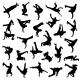 Break Dance Silhouettes - GraphicRiver Item for Sale