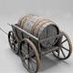 Barrel Carriage - 3DOcean Item for Sale