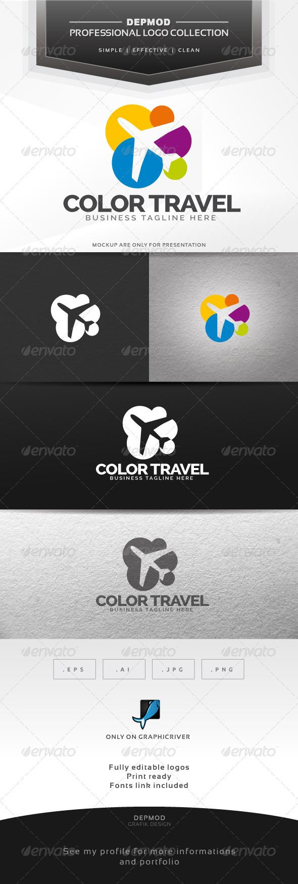 Color Travel Logo