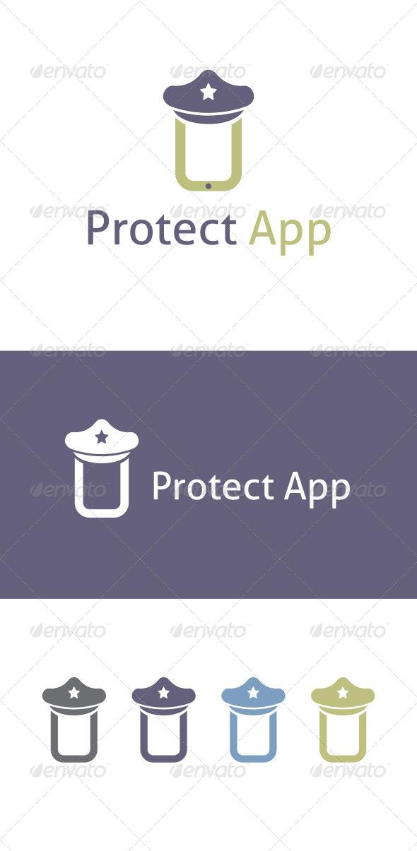Preotect App Logo Template