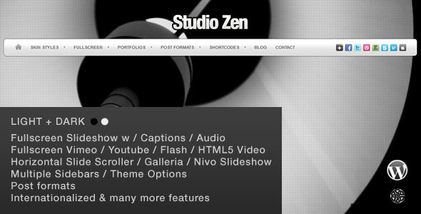 Studio Zen | Photography Theme for WordPress