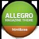 Allegro - Multipurpose News, Magazine HTML - ThemeForest Item for Sale
