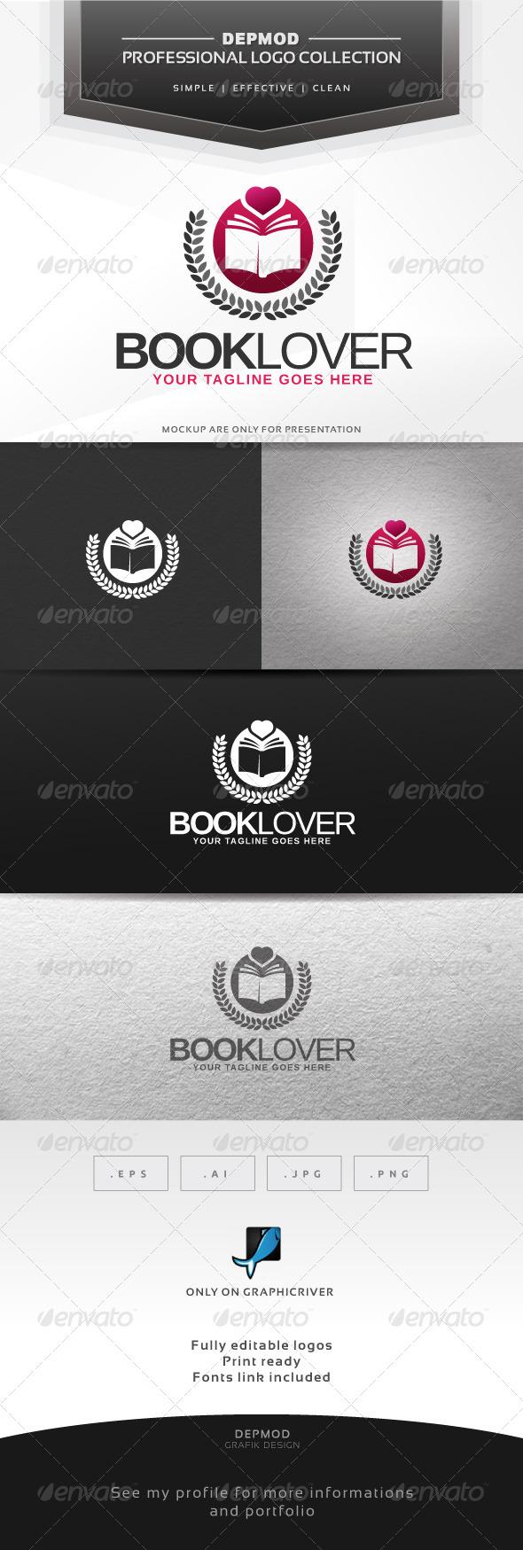 Book Lovers V.02 Logo