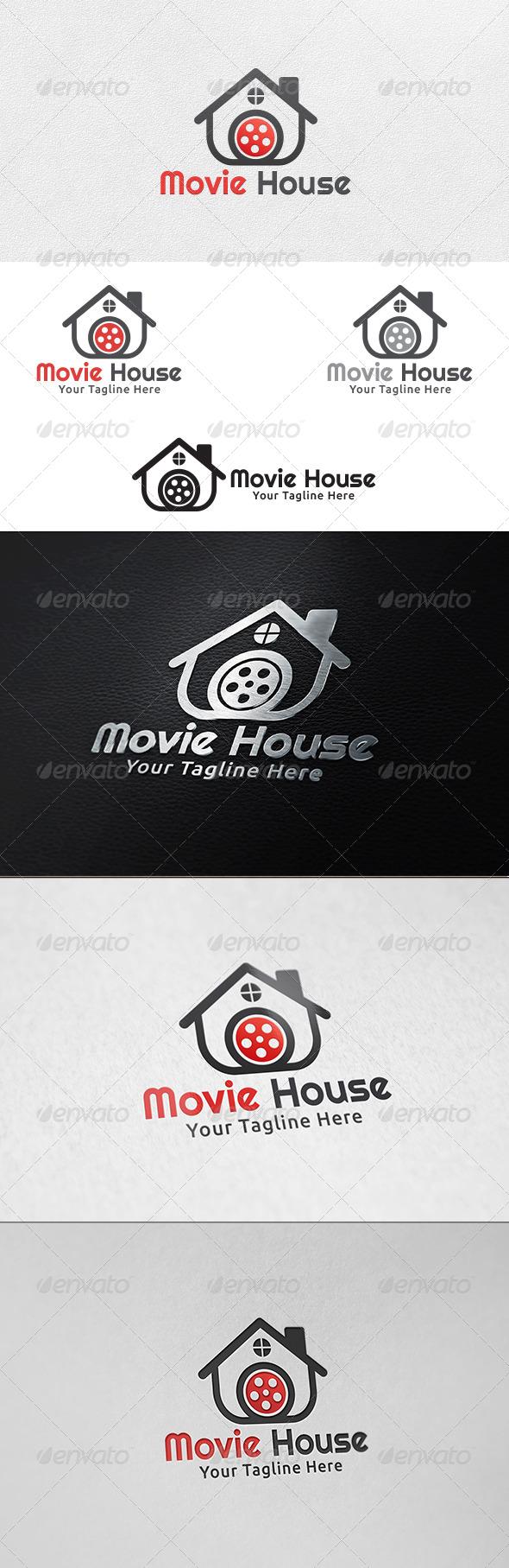Movie House - Logo Template