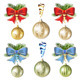 Christmas Ball with Bow - GraphicRiver Item for Sale