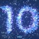 Blue Streaks Countdown - VideoHive Item for Sale