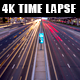 Dubai Highway Traffic Light Trails Time Lapse - VideoHive Item for Sale