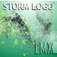 Storm Particles Logo - VideoHive Item for Sale