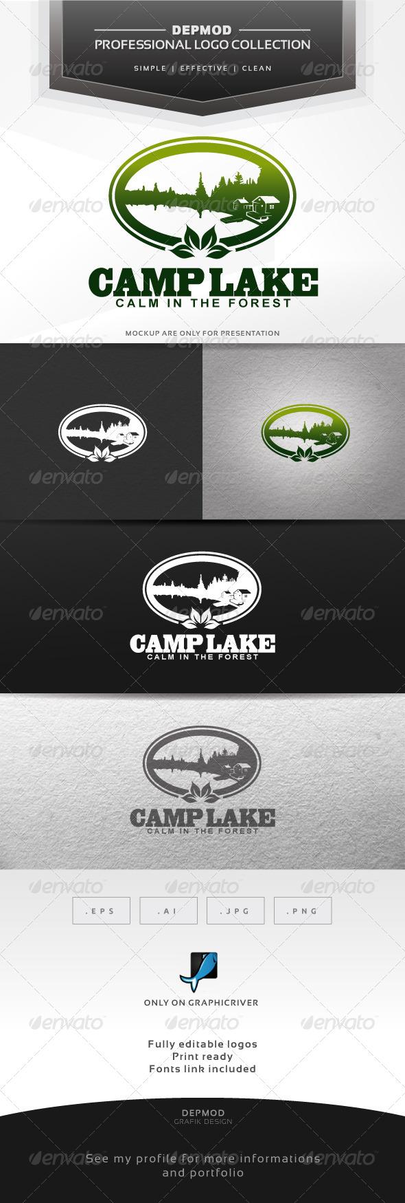 Camp Lake Logo