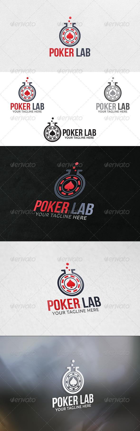 Poker Lab - Logo Template