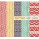 Set of Vector Seamless Patterns in Retro Style - GraphicRiver Item for Sale