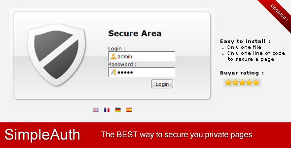 SimpleAuth : Very Simple Secure Login System Free Download #1 free download SimpleAuth : Very Simple Secure Login System Free Download #1 nulled SimpleAuth : Very Simple Secure Login System Free Download #1