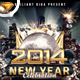 New Year Party Celebration Flyer Template - GraphicRiver Item for Sale