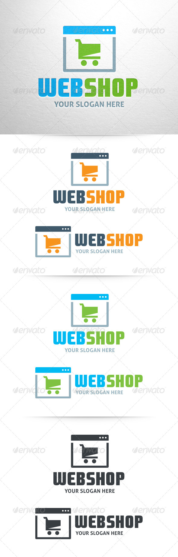 Webshop Logo Template