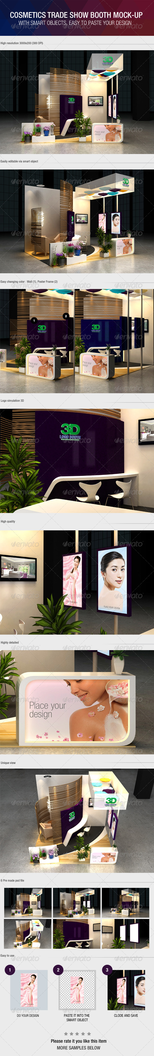 Graphicriver Exhibition Stand Design Mockup : Exhibition booth graphics designs templates from graphicriver