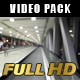 Escalator & People in a Modern Building  (2 Pack) - VideoHive Item for Sale