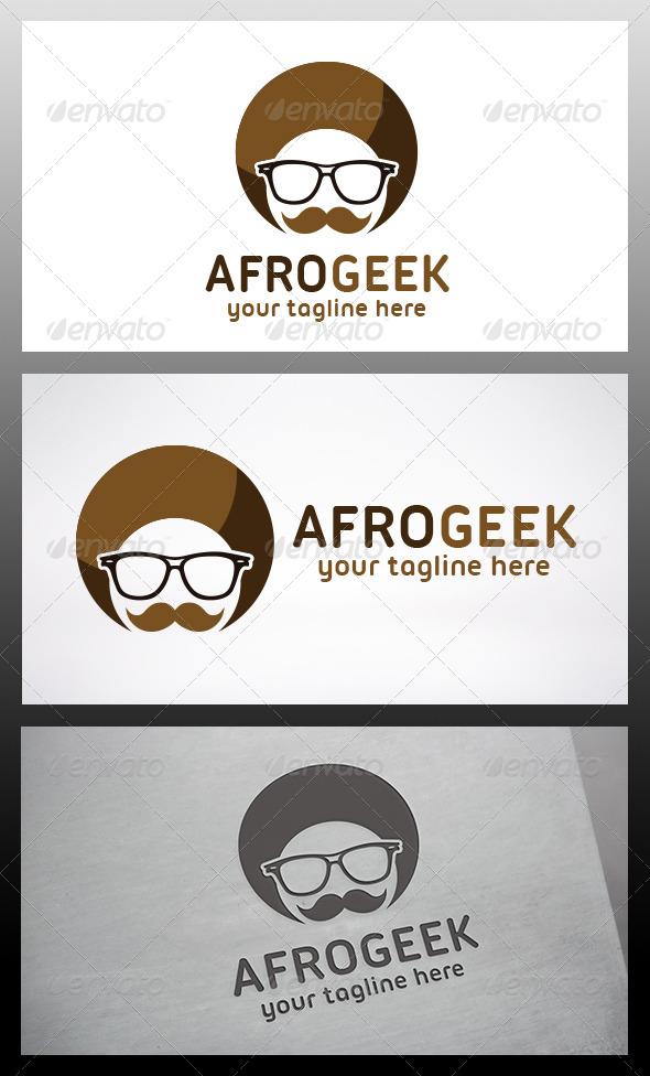 Afro Geek Logo