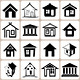 16 House Icons Set - GraphicRiver Item for Sale