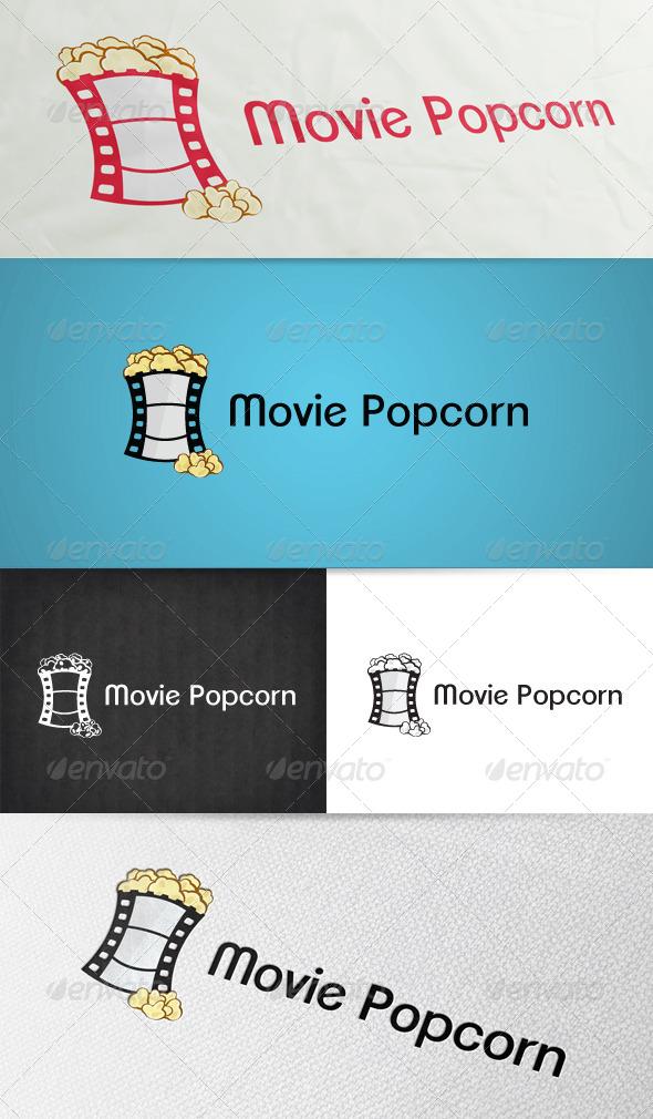 Movie Popcorn Logo