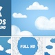 Cartoon Clouds Background - VideoHive Item for Sale