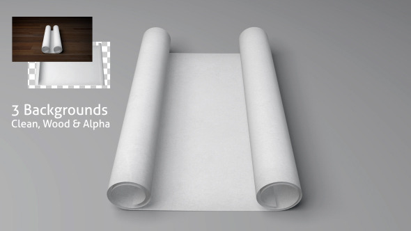 Blank Scroll / Paper Opening